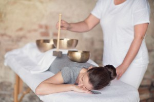 Klangschalen Massage