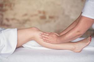 Manuelle kosmetische Lymphdrainage